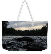 Mississippi River Dawn Sky Weekender Tote Bag