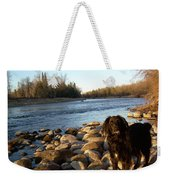 Mississippi River Good Morning Weekender Tote Bag