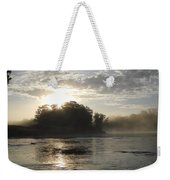 Mississippi River June Sunrise Reflection Weekender Tote Bag