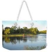 Mississippi River Lovely Dawn Light Weekender Tote Bag