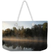 Mississippi River Smooth Reflection Weekender Tote Bag