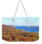 Mississippi Views From Grafton Bluffs Weekender Tote Bag