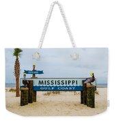 Mississippi Welcome Weekender Tote Bag