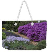 Missouri Botanical Garden Purple Azaleas Dsc01692 Weekender Tote Bag