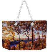 Missouri River In Fall Weekender Tote Bag