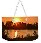 Missouri River In St. Joseph Weekender Tote Bag