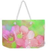 Missouri Wildflowers 5  - Polemonium Reptans -  Digital Paint 7 Weekender Tote Bag
