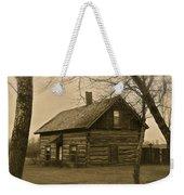 Missuakee County Log Cabin Weekender Tote Bag