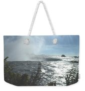 Mist At The Falls Weekender Tote Bag