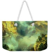 Mist In The Canyon Weekender Tote Bag