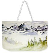Mist In The Mountains Weekender Tote Bag