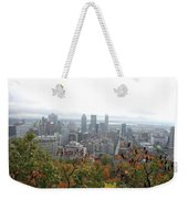 Mist Over Montreal Weekender Tote Bag