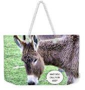 Mistaken Identity Weekender Tote Bag