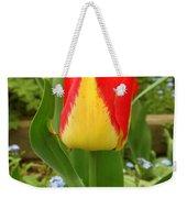 Mister Tulip Waving Salute Weekender Tote Bag