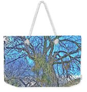 Mistletoe Tree Weekender Tote Bag