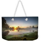 Mists Of The Morning Weekender Tote Bag