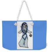 Mystic Blue Weekender Tote Bag