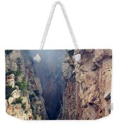 Misty Canyons Weekender Tote Bag