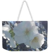Misty Cherry Blossoms Weekender Tote Bag