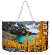 Misty Colchuck Lake Weekender Tote Bag