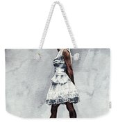Misty Copeland Ballerina As The Little Dancer Weekender Tote Bag