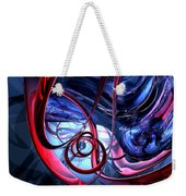 Misty Dreams Abstract Weekender Tote Bag