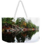 Misty Fall Weekender Tote Bag