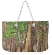 Misty Forrest Weekender Tote Bag