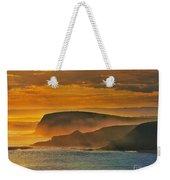 Misty Island Sunset Weekender Tote Bag