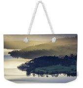 Misty Lake Windermere Weekender Tote Bag