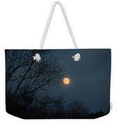 Misty Moonrise Weekender Tote Bag