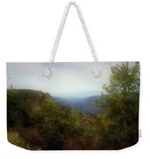 Misty Morn In The Mountains Weekender Tote Bag