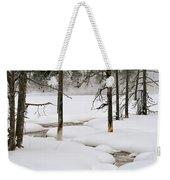 Misty Morn Weekender Tote Bag