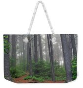 Misty Morning In An Algonquin Forest Weekender Tote Bag