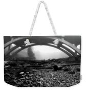 Misty Morning In Black And White Weekender Tote Bag