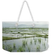 Misty Morning In China Weekender Tote Bag