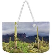 Misty Morning Peralta Weekender Tote Bag