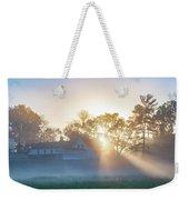 Misty Morning Sunrise - Valley Forge Weekender Tote Bag