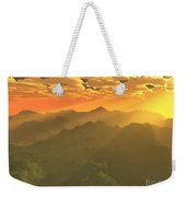 Misty Mornings In Neverland Weekender Tote Bag