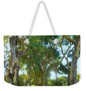 Misty Mountain Top Weekender Tote Bag