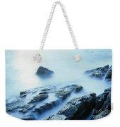 Misty Ocean Weekender Tote Bag