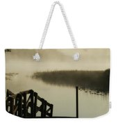 Misty Oregon Morning Weekender Tote Bag