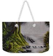 Misty Waterfall Weekender Tote Bag