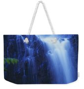 Misty Waterfall Weekender Tote Bag