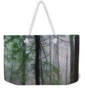Misty Winter Forest Weekender Tote Bag