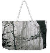 Misty Woods, Juniper Weekender Tote Bag