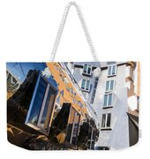 Mit Stata Center Cambridge Ma Kendall Square M.i.t. Reflection Weekender Tote Bag