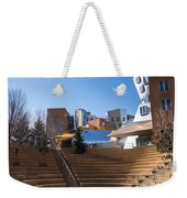 Mit Stata Center Cambridge Ma Kendall Square M.i.t. Staircase Weekender Tote Bag