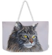 Mitze Maine Coon Cat Weekender Tote Bag