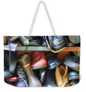 Mix Of Shoes Nyc Weekender Tote Bag
